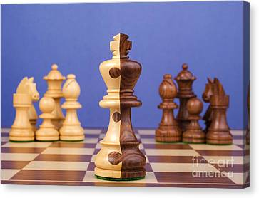 Chess Corporate Merger Canvas Print