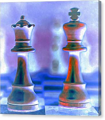 Chess King And Queen 20140918 Canvas Print
