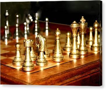 Chess Set  Canvas Print