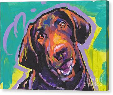 Chessie Smile Canvas Print by Lea S