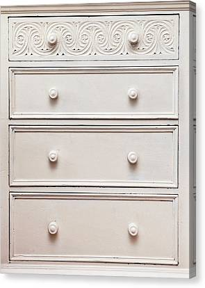 Chest Of Drawers Canvas Print by Tom Gowanlock