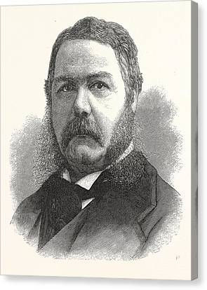 Americans Elect Canvas Print - Chester Arthur, Vice-president-elect The United States by American School