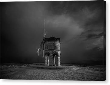 Chesterton Windmill Canvas Print by Chris Fletcher