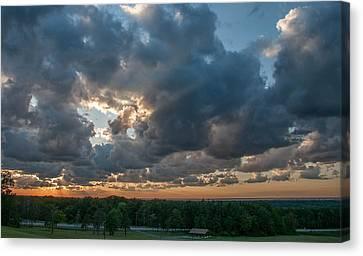Chestnut Ridge Sunset  2597 Canvas Print