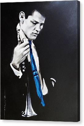 Chet Baker - Almost Blue Canvas Print