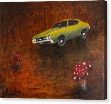 Chevelle Canvas Print by Jeff Levitch