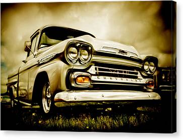 Chevrolet Apache Pickup Canvas Print by motography aka Phil Clark