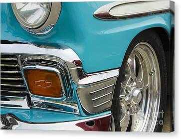Chevrolet Beauty Of Design Canvas Print by Bob Christopher