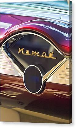 Chevrolet Belair Nomad Dashboard Canvas Print by Jill Reger