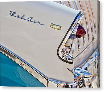 Chevrolet Bel-air Taillight Canvas Print by Jill Reger