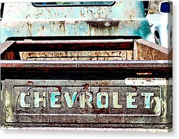 Chevrolet Canvas Print by Bob Wall