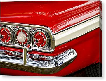Chevrolet Impala Classic Rear View Canvas Print