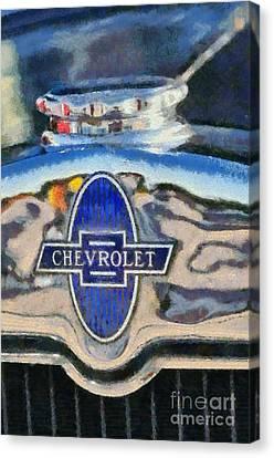 1929 Chevrolet International 2ac Canvas Print by George Atsametakis