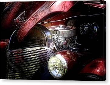 Chevrolet Master Deluxe 1939 Canvas Print by Tom Mc Nemar