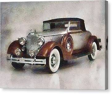 Chevrolet Master Sport Coupe Canvas Print