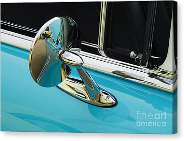 Chevrolet Mirror Beauty Of Design Canvas Print by Bob Christopher