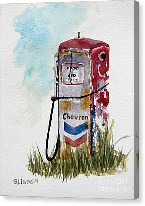 Chevron Canvas Print by Sandy Linden