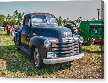 Chevy 1100 Canvas Print by Guy Whiteley