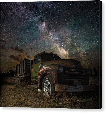 Chevy Canvas Print by Aaron J Groen