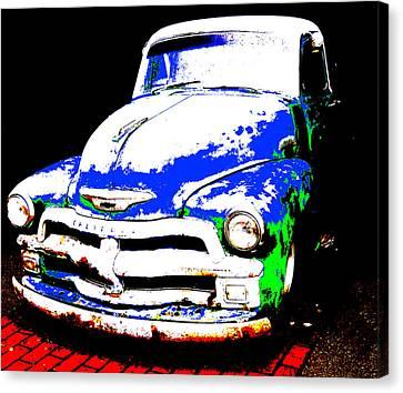Chevy Art  Canvas Print