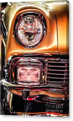 Chevy Bel Air Headlight Canvas Print