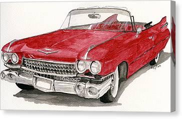 'caddy'-59 Canvas Print by Eva Ason