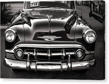 Chevy For Sale Canvas Print by Ari Salmela