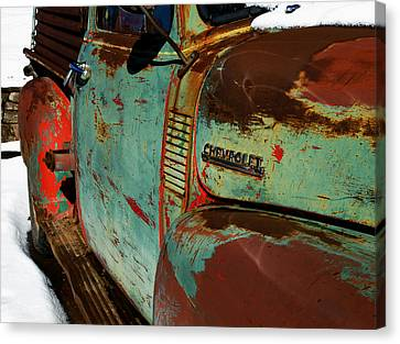 Chevy Canvas Print by Gia Marie Houck