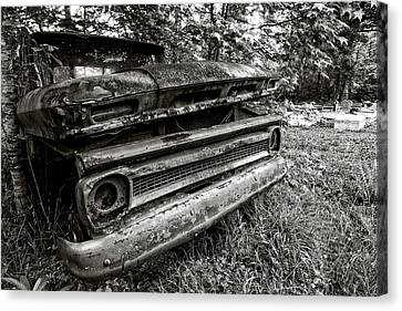 Chevy Graveyard II Canvas Print by Andy Crawford