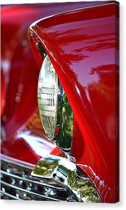 Chevy Headlight Canvas Print