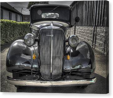 Chevy Canvas Print by Jean Noren