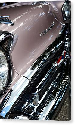 Chevy Canvas Print by Michelle Calkins