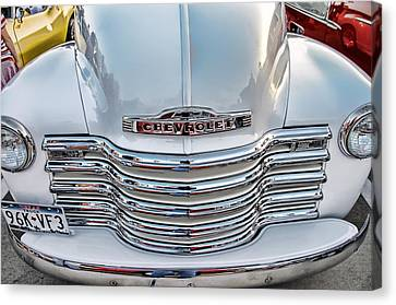 Canvas Print featuring the photograph Chevy Pickup Classic by Dyle   Warren