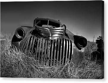 Chevy Pickup Canvas Print by Peter Tellone