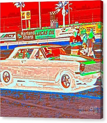 Chevy Shoe Box Canvas Print by James Eye