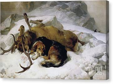 Chevy Canvas Print by Sir Edwin Landseer