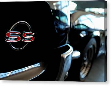 Chevy Ss - Leading The Pack Canvas Print by Steven Milner