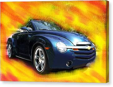 Chevy Ssr Canvas Print by Doug Walker