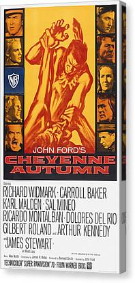 Dolores Canvas Print - Cheyenne Autumn, Us Poster Art by Everett