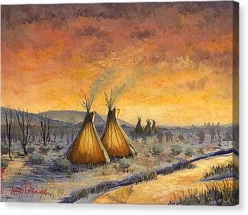 Cheyenne Comfort Canvas Print by Jeff Brimley