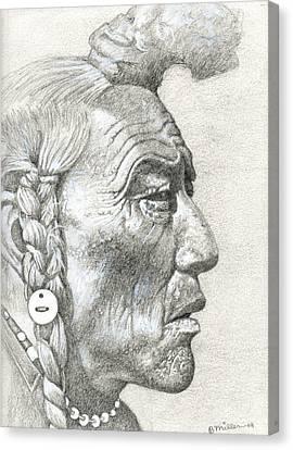 Cheyenne Medicine Man Canvas Print