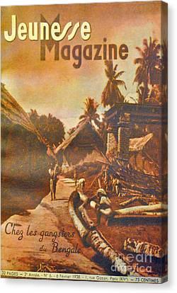 Chez Bengale Canvas Print