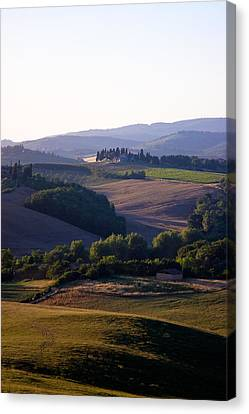 Tuscan Canvas Print - Chianti Hills In Tuscany by Mathew Lodge