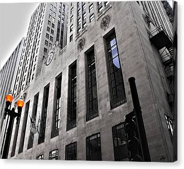 Chicago Board Of Trade Canvas Print by Paul Anderson
