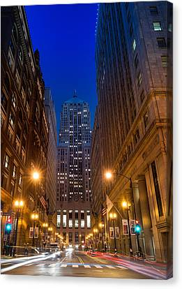 Chicago Board Of Trade Canvas Print by Steve Gadomski