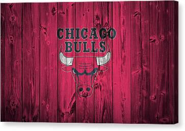 Michael Jordan Canvas Print - Chicago Bulls Barn Door by Dan Sproul