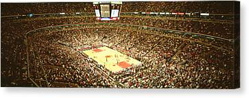 Chicago Bulls, United Center, Chicago Canvas Print