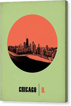 Chicago Circle Poster 1 Canvas Print