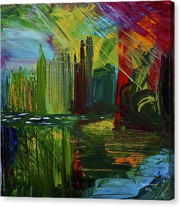 Chicago City Scape Canvas Print