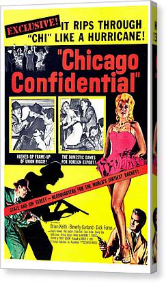Chicago Confidential, Us Poster, Jack Canvas Print